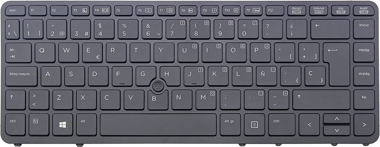WishingDeals portátil teclado retroiluminado para HP EliteBook ...