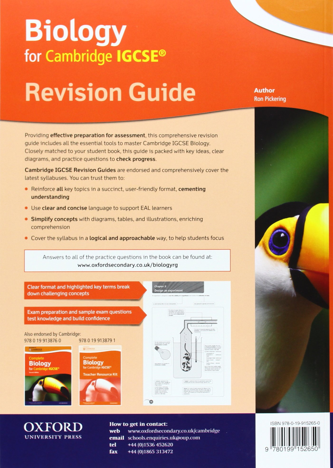 Cambridge Biology IGCSE® Revision Guide Cambridge Igcse ...