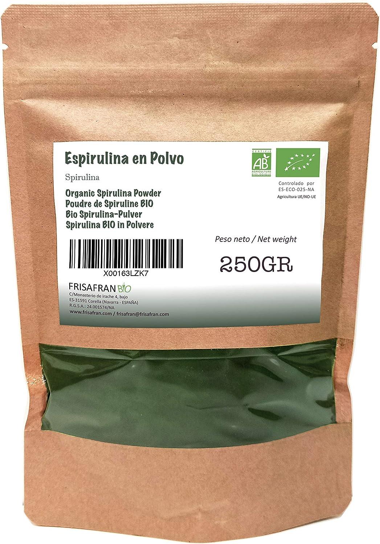 FRISAFRAN - Espirulina en Polvo Orgánica (250Gr)