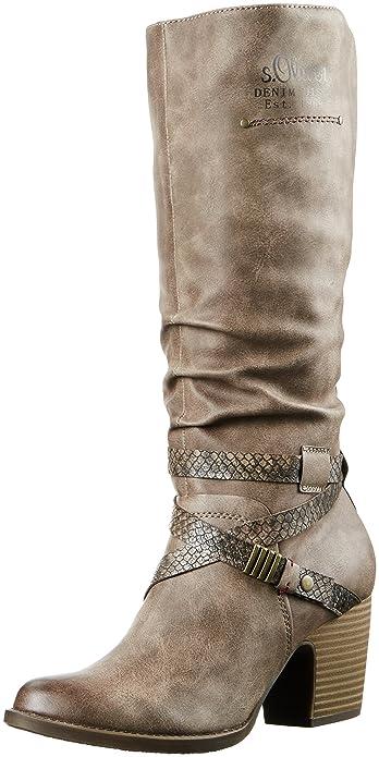 s.Oliver Damen 25617 Langschaft Stiefel  Amazon.de  Schuhe   Handtaschen 29b837e70c