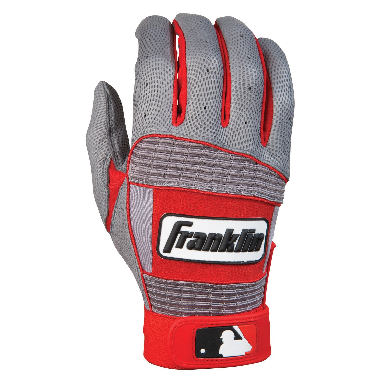 FranklinスポーツNeoクラシックII大人用2013シリーズバッティンググローブ B006DOJ1ZWグレー/レッド S