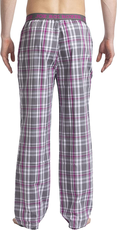 Joe Boxer Mens YD Poplin Pant One-Piece Pajamas