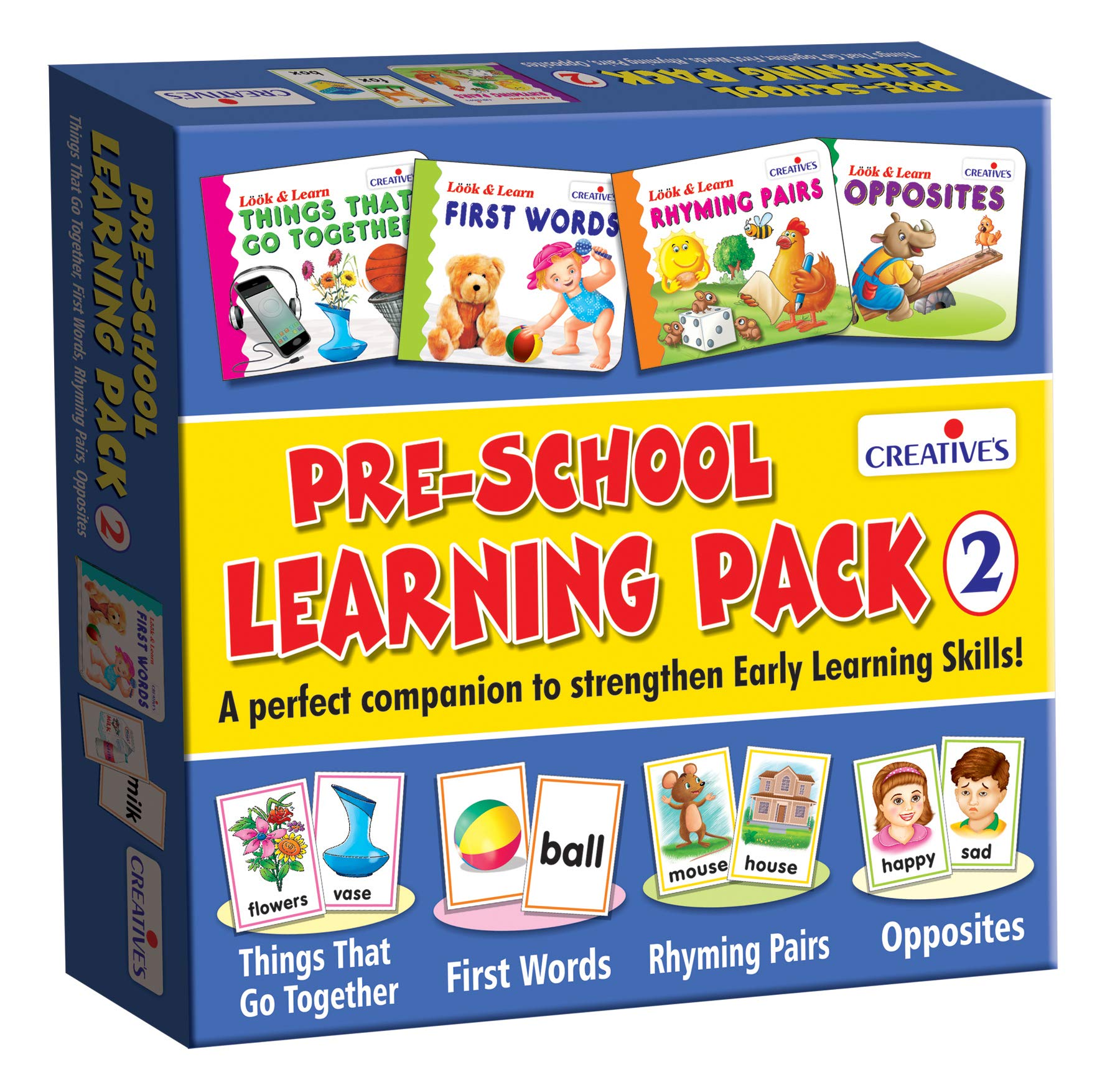 Creative Educational Aids Pre-School Learning Pack - 2 product image