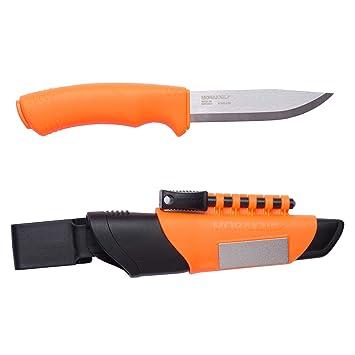 Mora FT13907 Cuchillo a Lama Fissa,Unisex - Adultos, Orange, un tamaño