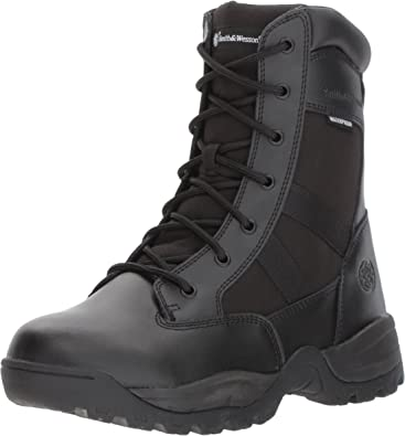Coyote Smith /& Wesson Footwear Mens Breach 2.0 Tactical Size Zip Boots 11.5