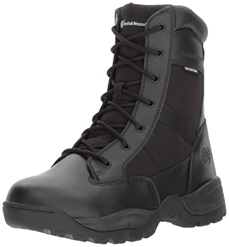 856bd7621c6 Smith & Wesson Men's Breach 2.0 Tactical Waterproof Side Zip Boots