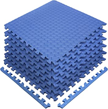200 sq ft child gym daycare kids playroom foam mat play interlocking tiles