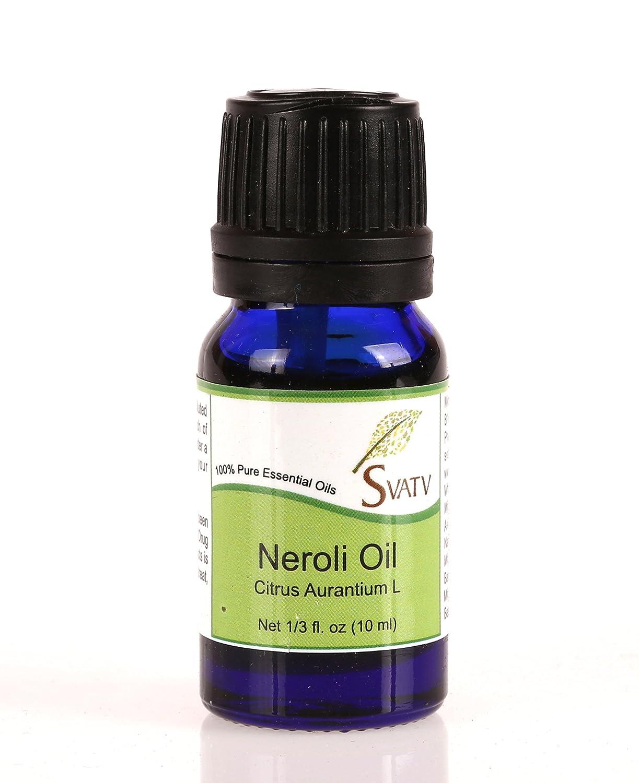 SVATV Neroli (Citrus Aurantium L) Essential Oil 10 mL (1/3 oz) 100% Pure, Undiluted, Therapeutic Grade GnG