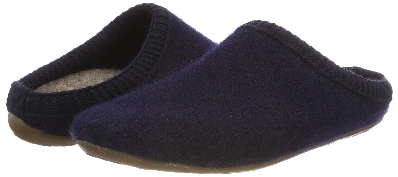 Haflinger Unisex-Erwachsene Dakota Classic Pantoffeln 276) Blau (Ocean 276) Pantoffeln 587f78