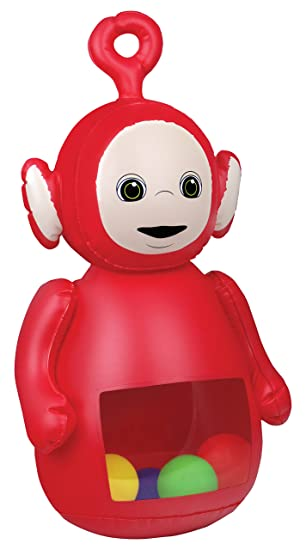 Amazon Com Dhx Teletubbies Teletubbies Inflatable Bopper Po Inflatable Doll Bounce Toys Games