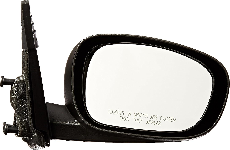 Passenger Side Mirror 2007-2010 Chrysler 300 Power Non-Heated Textured Black