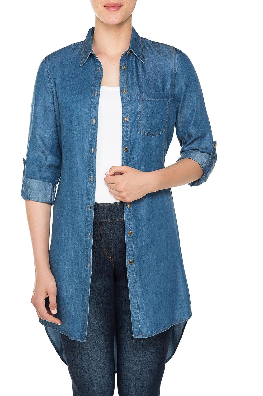 Nygard Womens Plus Size Slims 3//4 Sleeve Tunic
