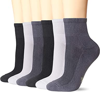 6 x Children Kids Bamboo Trainer Socks