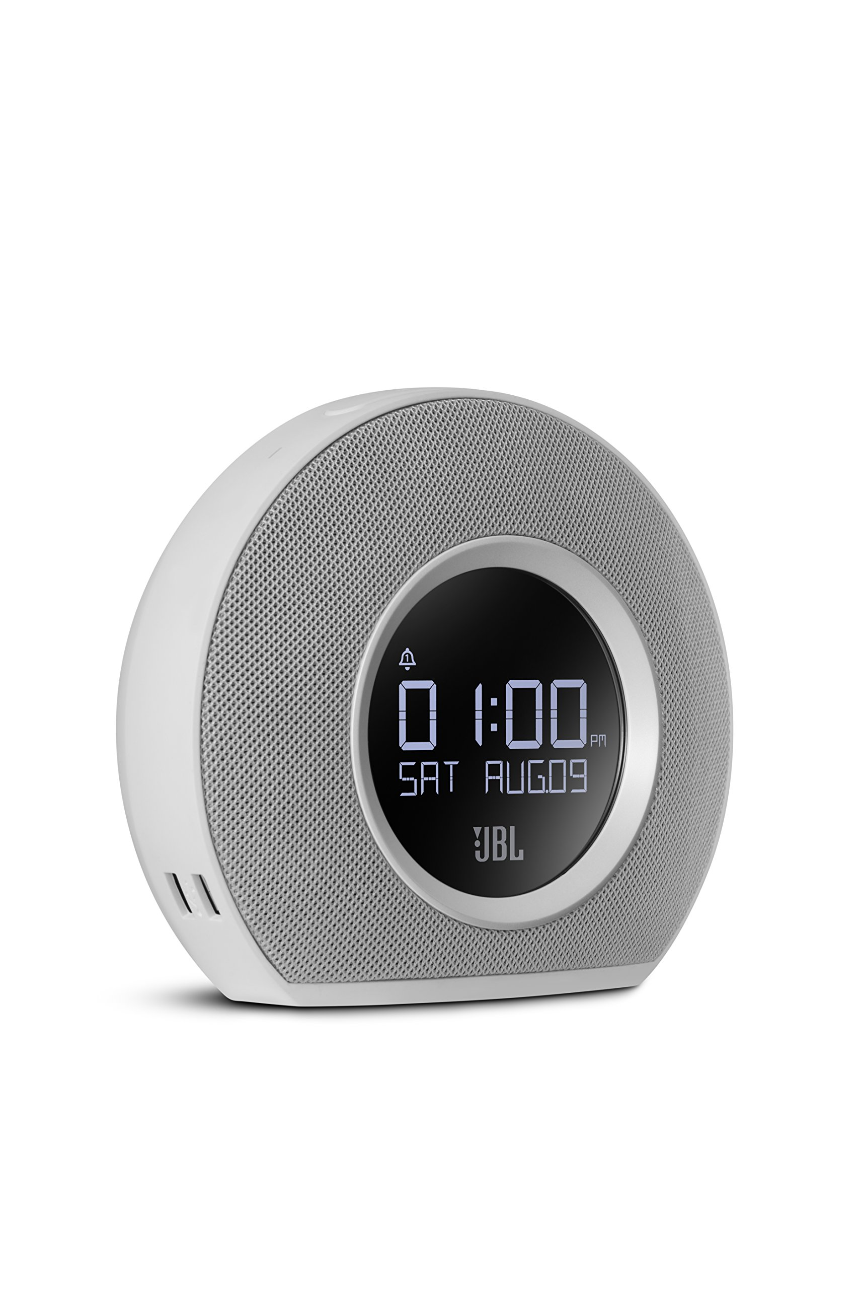 JBL Horizon Bluetooth Clock Radio with USB Charging and Ambient Light (White)