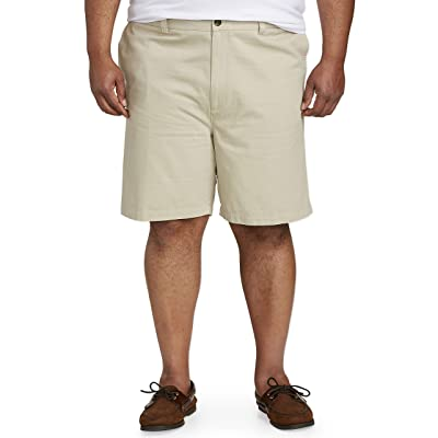 Essentials Men's Big and Tall Big & Tall Classic-fit Flat-Front Short: Clothing