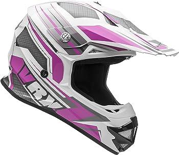 Vega Helmets VRX Advanced -  Off-Road Pink Motorcycle Helmet