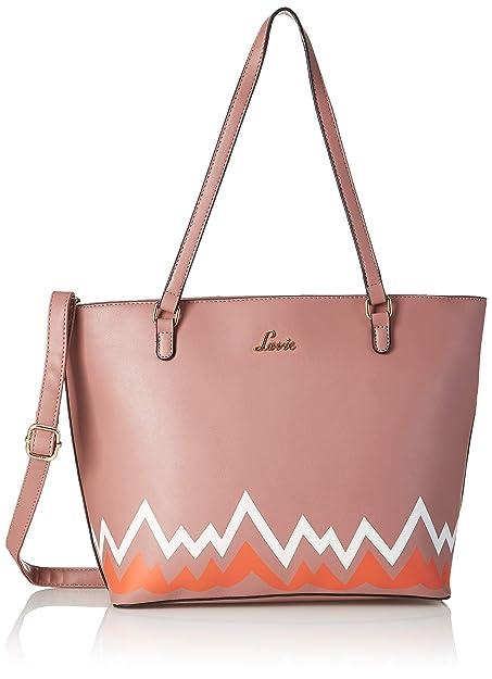 0d8ca881c6 Lavie Quadrille Women s Tote Bag (Plum)  Amazon.in  Shoes   Handbags
