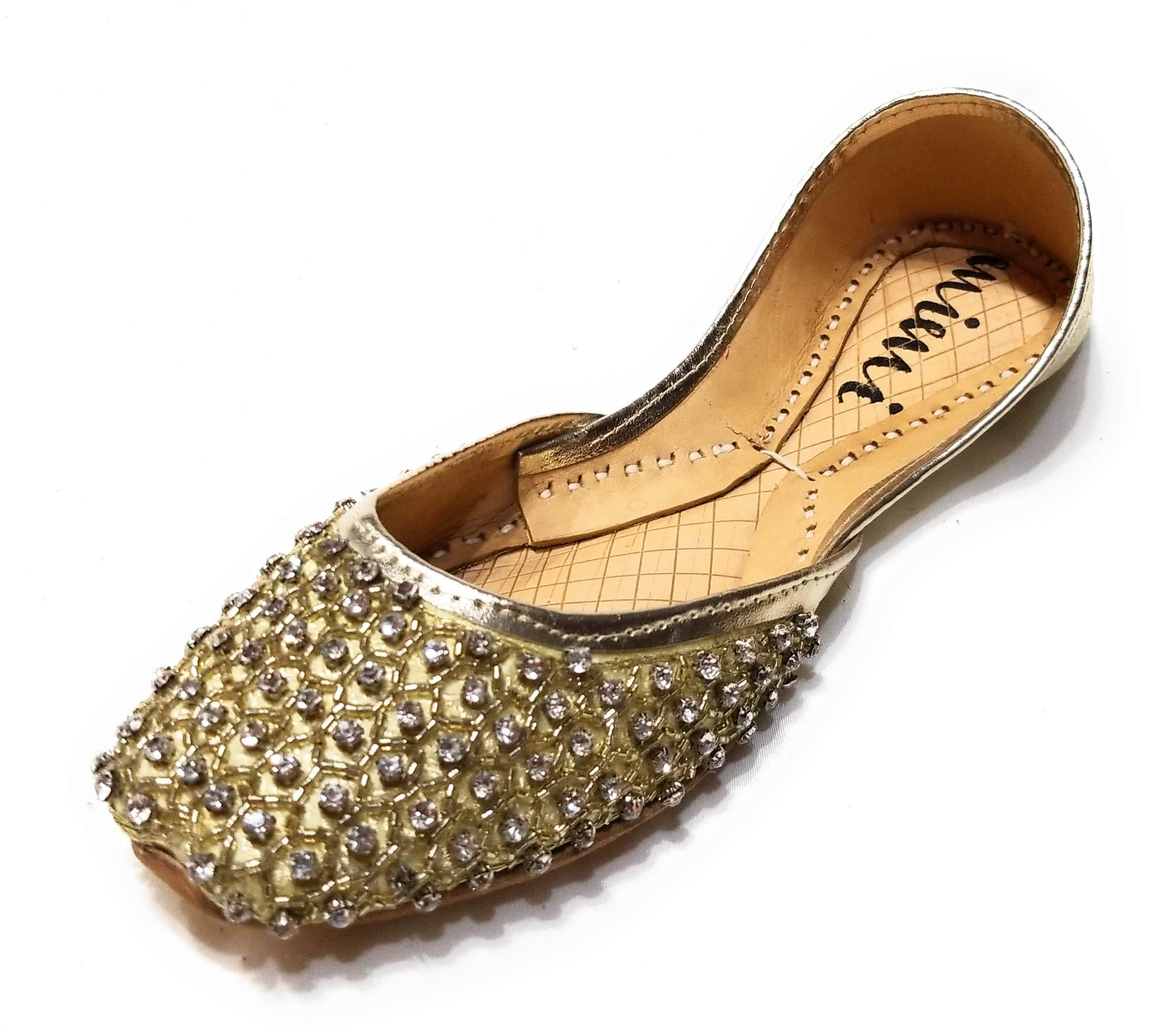 Mimi Women's Diamond Shoes Sparkly Wedding Rhinestone Flats