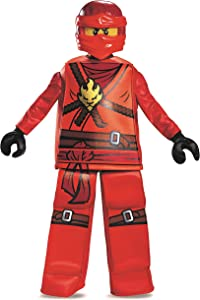 Disguise Kai Prestige Ninjago Lego Costume, Medium/7-8