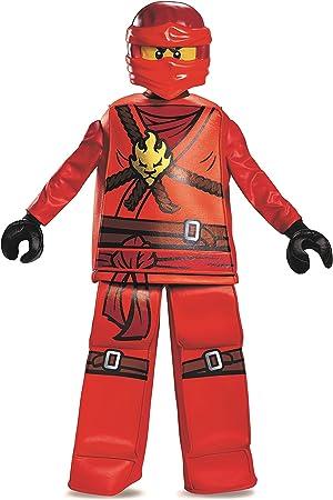 LEGO Ninjago Kai Prestige - Disfraz de Lego Mediano, de 7 a 8 años ...