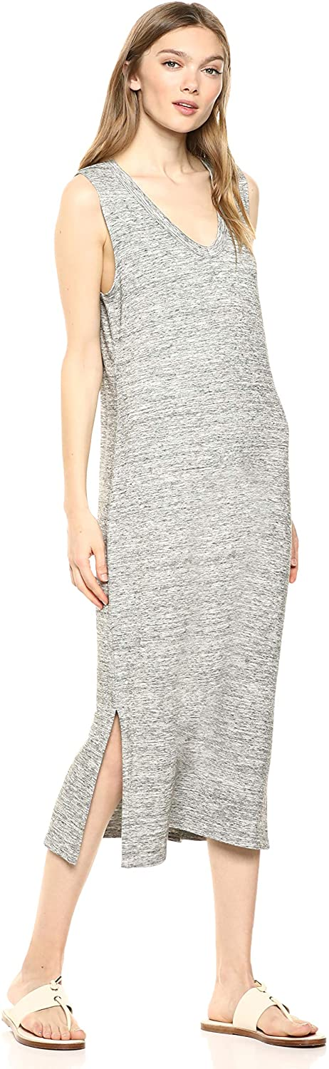 Daily Ritual Lived-in Cotton Muscle-Sleeve Midi Dress Mujer Marca