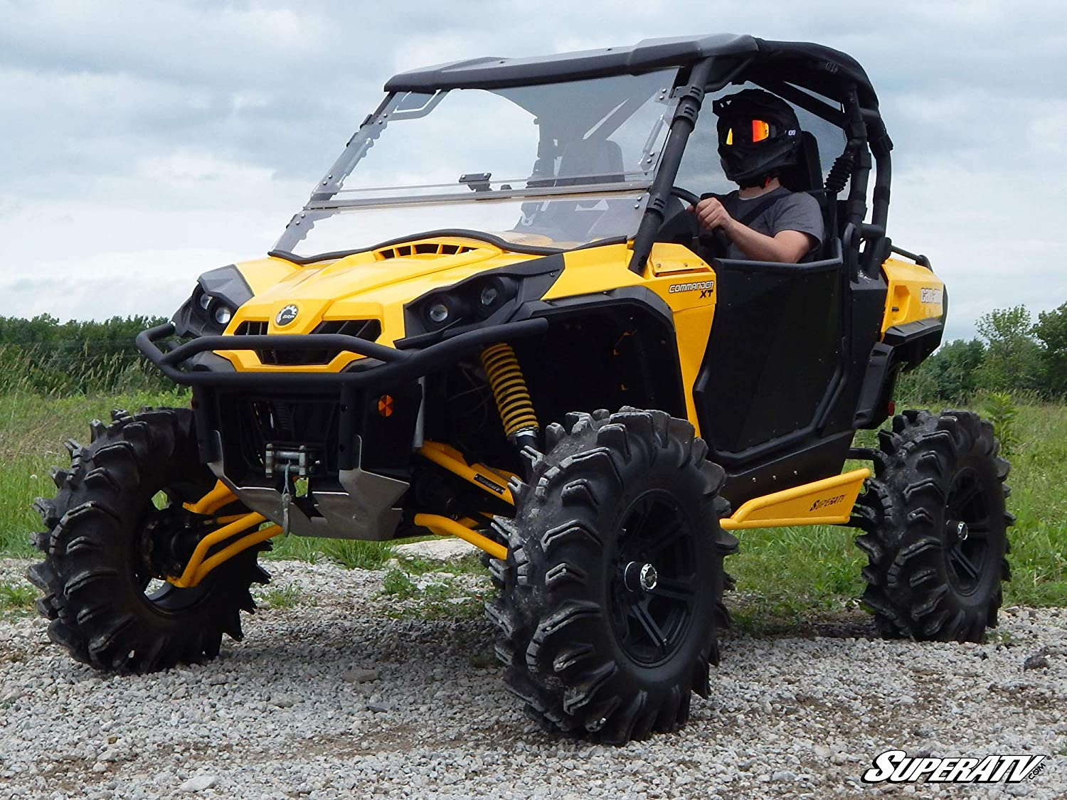 Easy To Install! 2011+ SuperATV Heavy Duty Soft Top Roof for Can-Am Commander