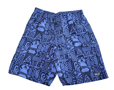 adf78997f2 Image Unavailable. Image not available for. Color: Patagonia Child Boy's  Baggie Printed Shorts (X-Large 14) ...