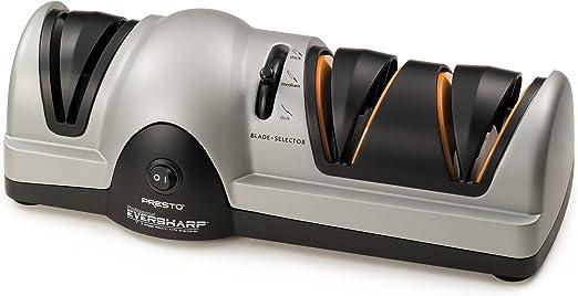 Best electric knife sharpener : Presto 08800 EverSharp Electric Knife Sharpener