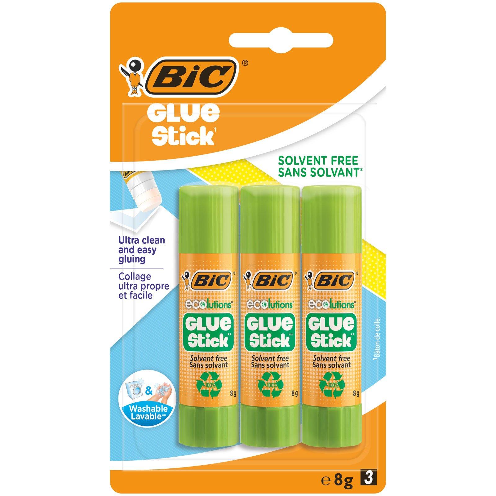 BIC 8 g, Pegamento en Barra. 3 Unidades product image