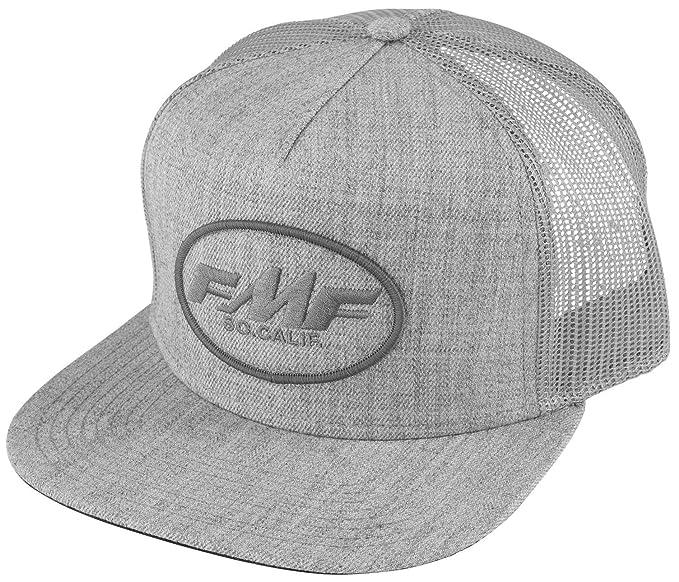 cc1ea850 Amazon.com: FMF Racing Men's Rev Snapback Hat-One Size Heather Grey ...