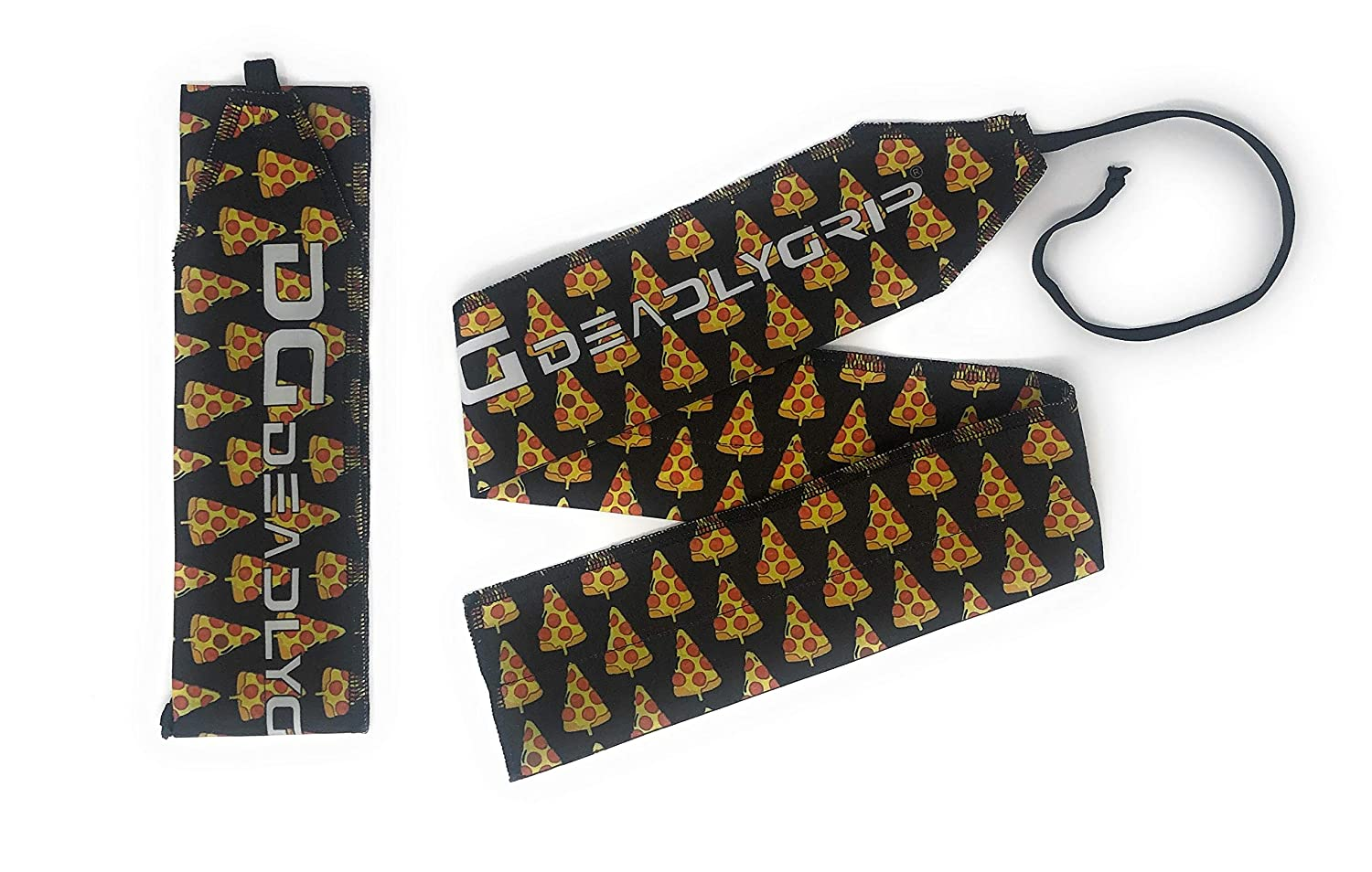 Pizza Deadly Grip DG Wrist Wrap. for Maximum Wrist Support Special for Crossfit, Power Lifting, Calisthenics and More.