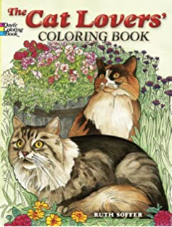 The Cat Lovers Coloring Book Dover Nature