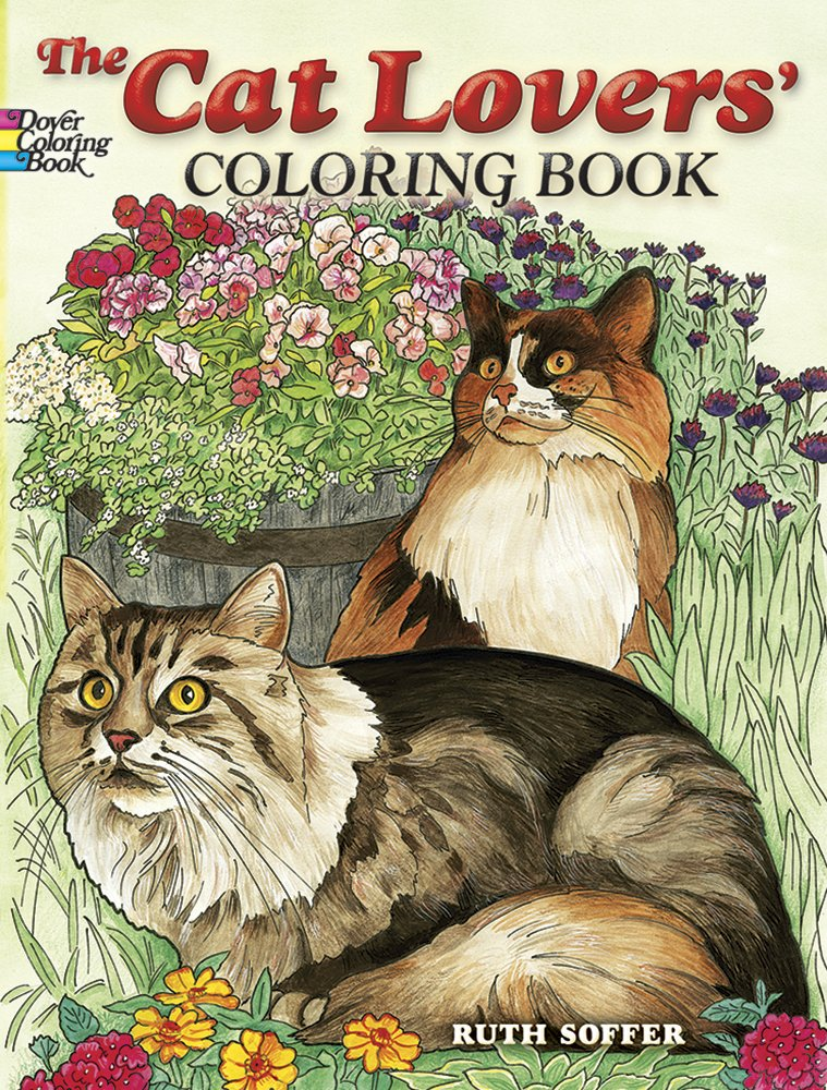 Download The Cat Lovers Coloring Book (Dover Nature Coloring Book) pdf