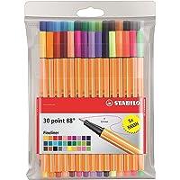 Stabilo Point 88 - Pluma estilográficas (Multi, Multicolor, Naranja)