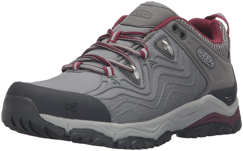 KEEN Women's Aphlex Waterproof Shoe B019FC41XA 5 B(M) US|Raven/Gargoyle
