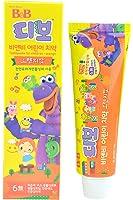 韩国 B&B 保宁 幼儿牙膏(橙子)90g(产地:韩国)