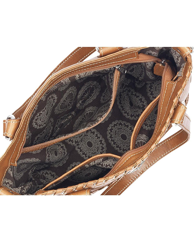American West Harvest Moon Convertible Bucket Golden Tan Leather