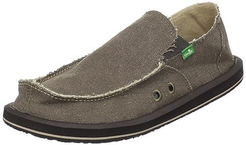 Zapatos marrones Sanuk para hombre wnls9po