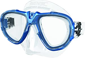 SEAC Fox Fox Mask - Blue/Metal, N/A