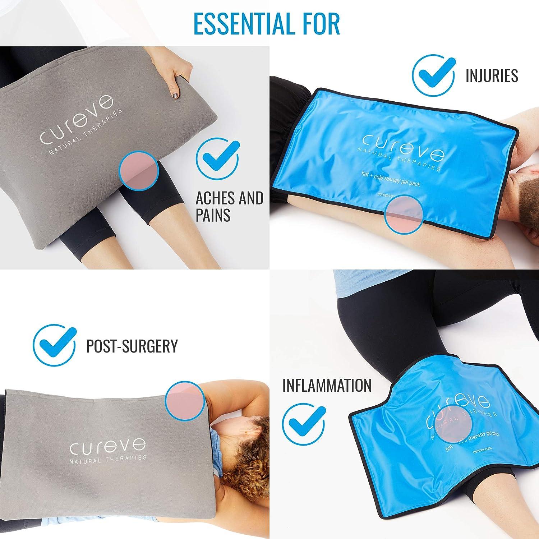 Amazon.com: Cureve - Paquete de gel de terapia fría y ...