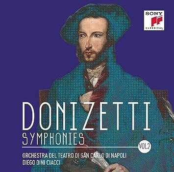 Risultati immagini per donizetti sinfonie