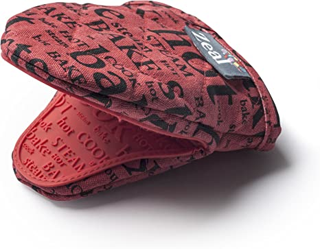 Zeal Celo Silicona y algodón Mini Guante manopla, algodón, Rojo ...