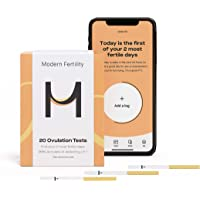 Modern Fertility Ovulation Kit - 20 Ovulation Test Strips in Each Ovulation Predictor Kit. Free iOS App.