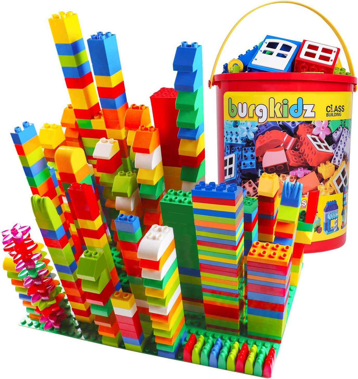 Offer is for 2 sets For age 3 + New. Building Block Set 32 pieces