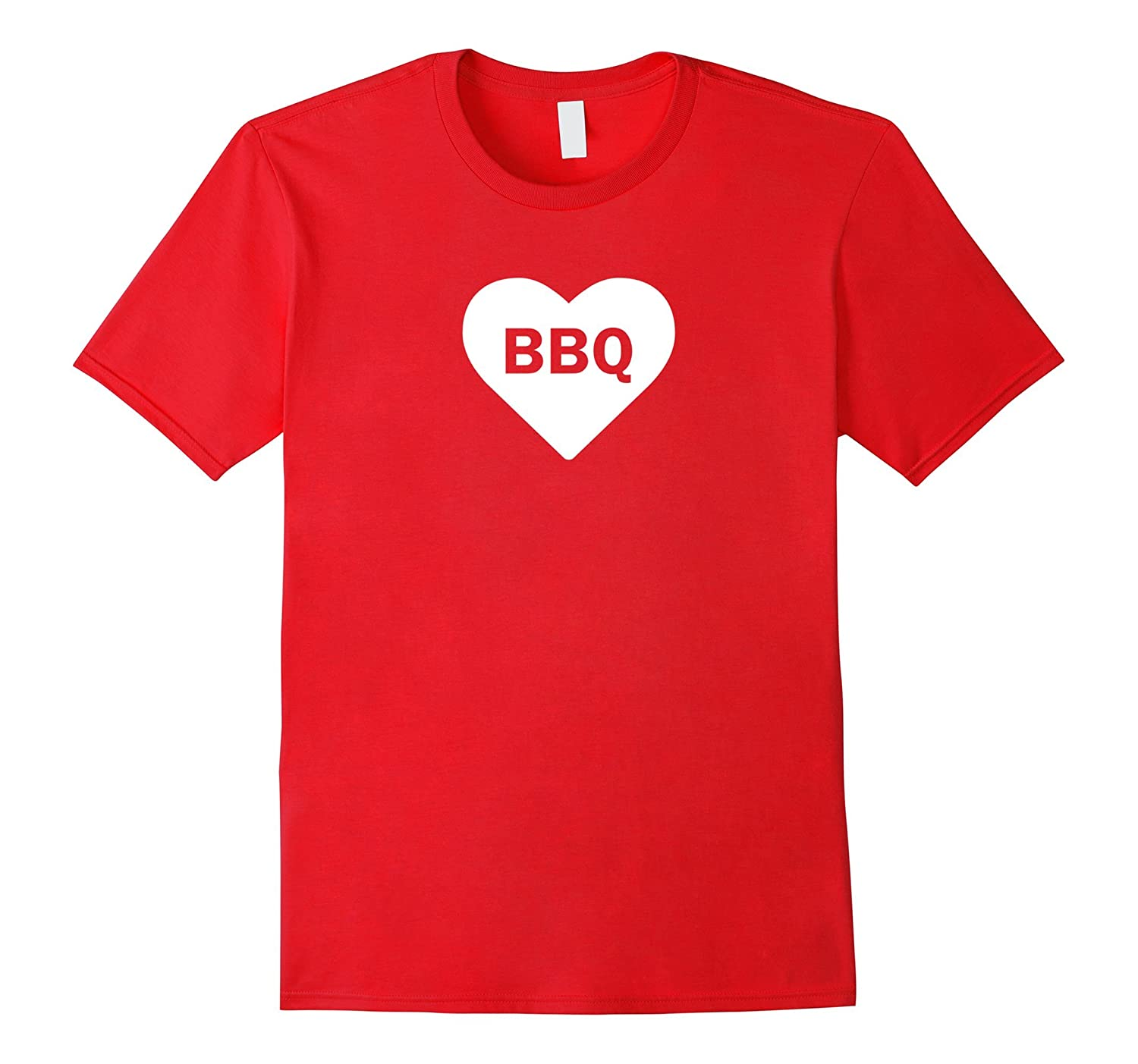 BBQ Love Loose Fit T-Shirt - White Ink-FL