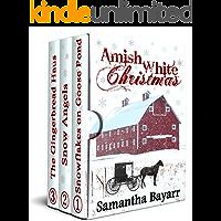 Amish White Christmas: Three Amish Romance Novellas
