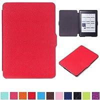 Capa para Kindle Paperwhite - Rígida - Várias Cores (Vermelho)