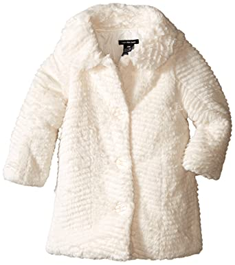 154594e30 Amazon.com  Calvin Klein Baby Girls  Faux Fur Jacket  Clothing