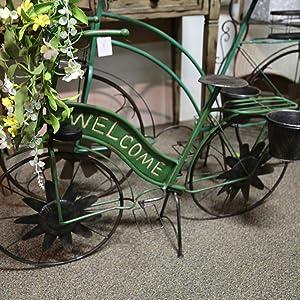 GIL 2335870 37InL Solar Green Mtl Bicycle Spring 37.2InL x 14.25InW x 24.75InH