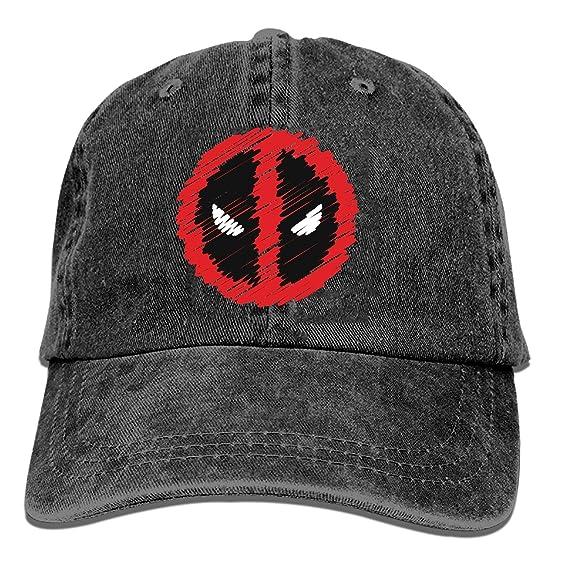 LUXNG - Gorra de béisbol - para Hombre Deadpool Logo6 Taille Unique: Amazon.es: Ropa y accesorios